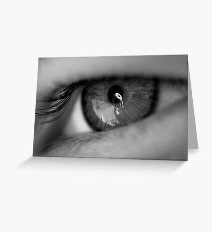 Apple of her eye Greeting Card