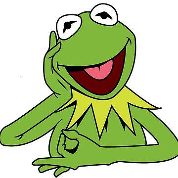Circle hand Kermit by Waleart