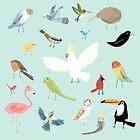 Bird Pattern by Sophie Corrigan