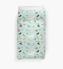 Bird Pattern Duvet Cover