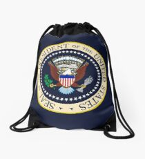 Seal of the President of the United States Drawstring Bag