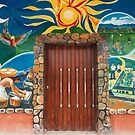 The Painted Doors And Windows Of Las Flores - 1 © by © Hany G. Jadaa © Prince John Photography