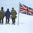 Photograph of the Nimrod Expedition (1907-09) to the Antarctic, led by Ernest Shackleton. by Marina Amaral