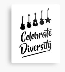 Celebrate Diversity Metal Print