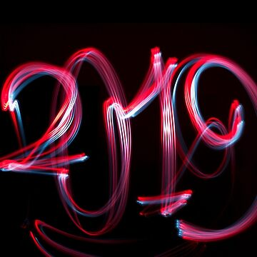2019 written with cycle lights by stuwdamdorp