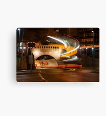 Mersey Tunnel Light Painting Canvas Print