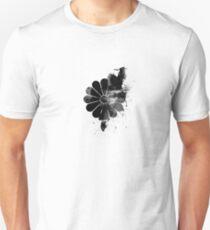 Inked Chrysanthemum Crest Unisex T-Shirt