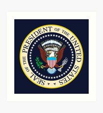 Seal of the President of the United States Art Print