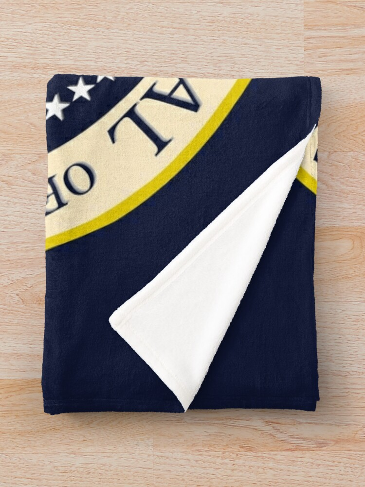 Alternate view of Seal of the President of the United States Throw Blanket