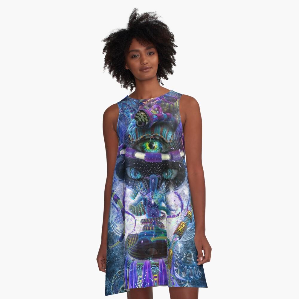 Copelandian Paradigm A-Line Dress
