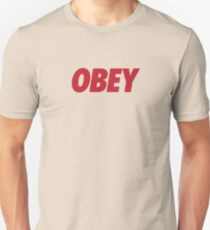 OBEY - Red Unisex T-Shirt