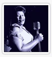 Ella Fitzgerald fanart by NICHEPRINTSNYC Sticker