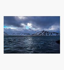 Kolgrafafjordur, Grundarfjordur, Snaefellsnes, Island Fotodruck
