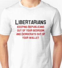 Libertarian Help Unisex T-Shirt