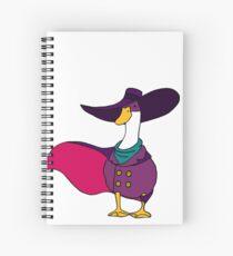 Shady Duck Hero Spiral Notebook