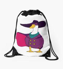 Shady Duck Hero Drawstring Bag