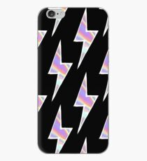 50'S PINK LIGHTNING BOLT iPhone Case