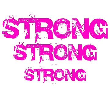 Be strong Girl Shirt by angelmc