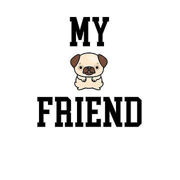 Best Friend T-shirt - Love Dog by angelmc
