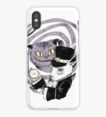 We are all mad here! iPhone Case/Skin