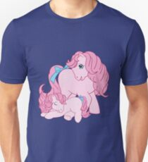 retro g1 my little pony cotton candy and baby Unisex T-Shirt