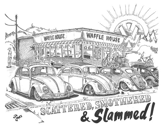 Scattered, Smothered & Slammed by bulldawgdude