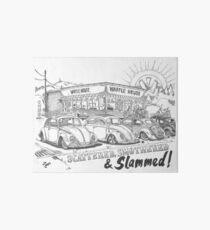 Scattered, Smothered & Slammed Art Board