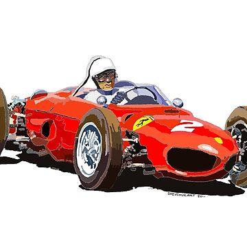 Ferrari Dino 156 1962  by shevchukart