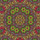 Kaleidoscope Mandala - Madelain by Carrie Dennison