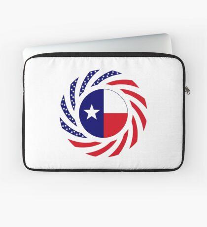 Texan Murican Patriot Flag Series Laptop Sleeve