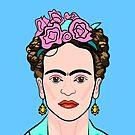 Frida Kahlo ( Blue ) by Adam Regester