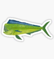 Mahi Mahi aka the Dolphin Sticker