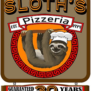 Sloth's Pizzeria by Croneda