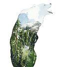 « Landscape Bear » par Threeleaves