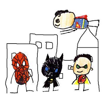 superhero 1 2 3 4 by brandyhoocker