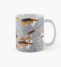 corgi potter wizarding world pattern Mug