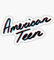 Pegatina adolescente americano