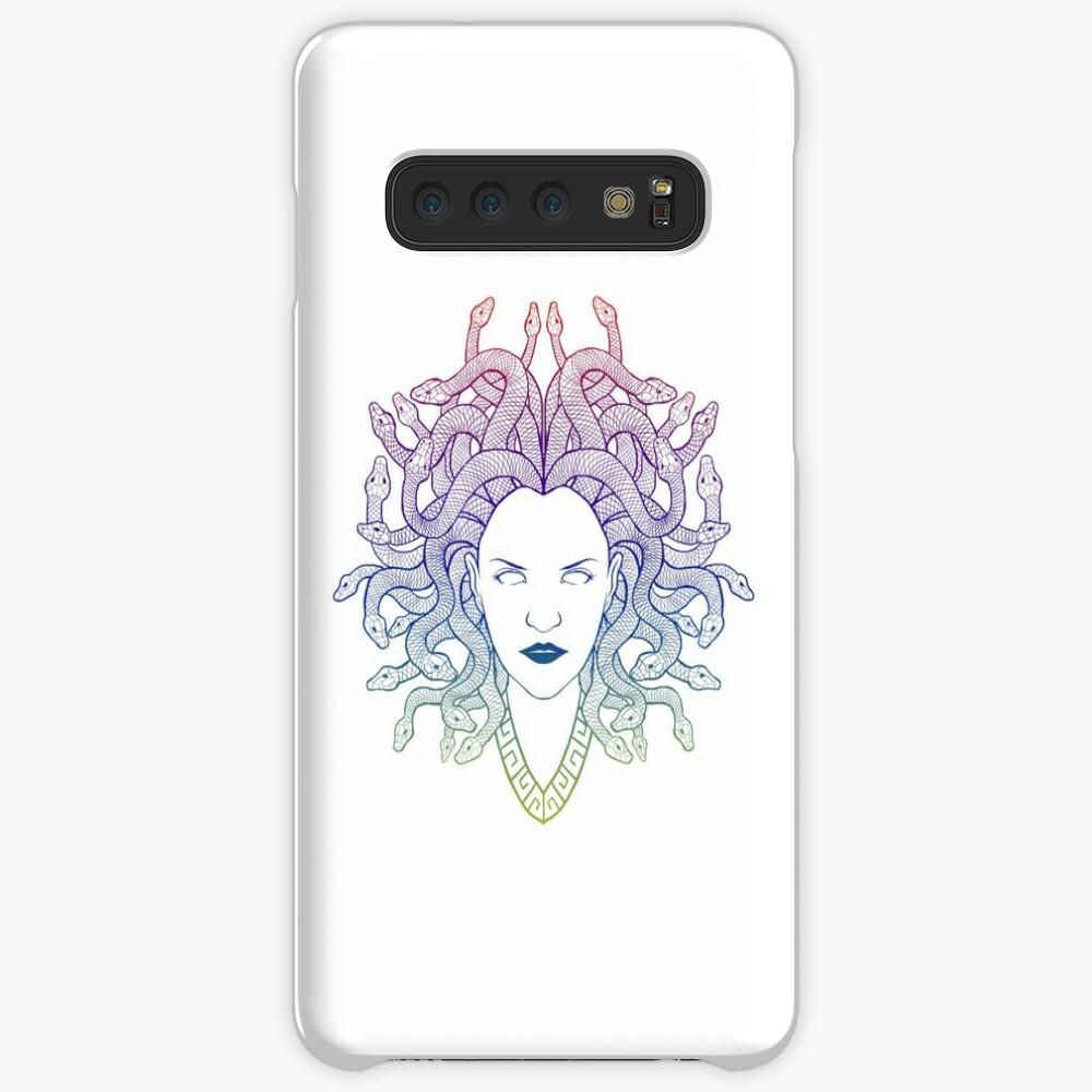 Medusa (colors) Case & Skin for Samsung Galaxy