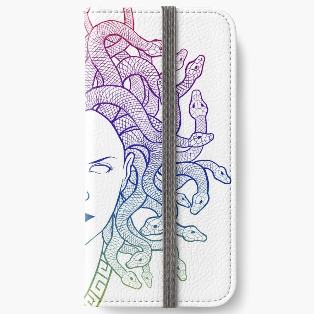 Medusa (colors) iPhone Wallet