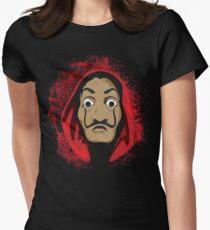 La casa de Papel Splash Women's Fitted T-Shirt