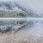 Fogy Morning At Loch Shiel/Fort William, Highlands Of Scotland by Susan Dost