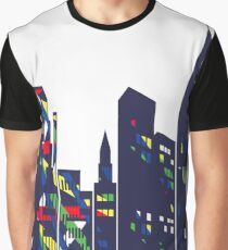 Urban skyline1 Graphic T-Shirt