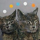 Grey Cats by Michael Creese