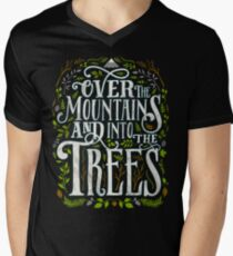 Over The Mountains And Into The Trees Men's V-Neck T-Shirt