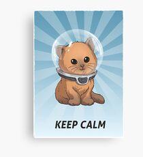 Lienzo Subnautica: Keep Calm Kitty