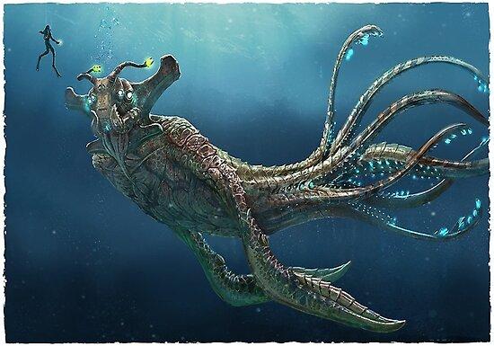 """""""Subnautica: Sea Emperor Leviathan"""" Posters by ..."""
