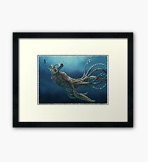 Subnautica: Sea Emperor Leviathan Framed Print