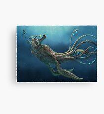 Lienzo Subnautica: Sea Emperor Leviathan