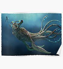 Subnautica: Seekaiser Leviathan Poster