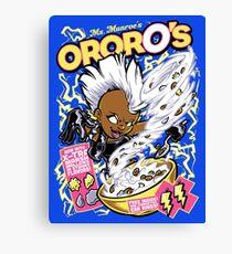 OrorO's Cereal Canvas Print